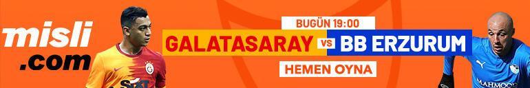 Galatasaray - Erzurumspor maçı canlı bahis heyecanı Misli.comda
