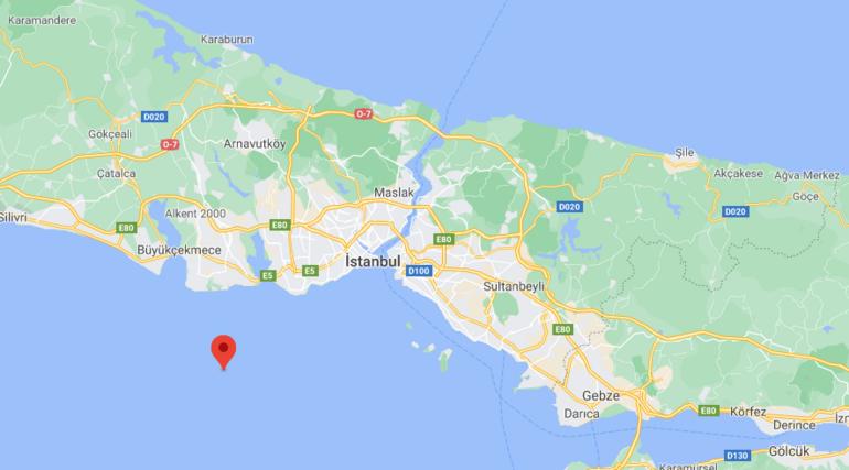 Son dakika... Marmara Denizinde deprem