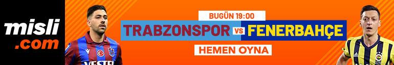 Trabzonspor - Fenerbahçe maçı Tek Maç ve Canlı Bahis seçenekleriyle Misli.com'da