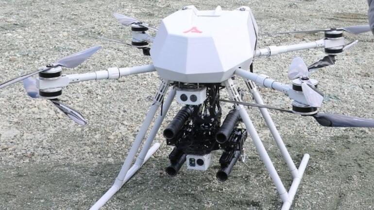 Türkiyeden ilk bomba atarlı drone Songar