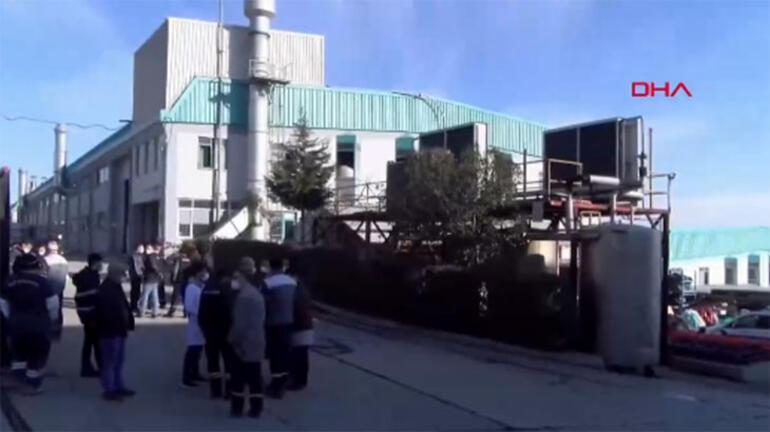 Son dakika... İstanbulda fabrikada patlama