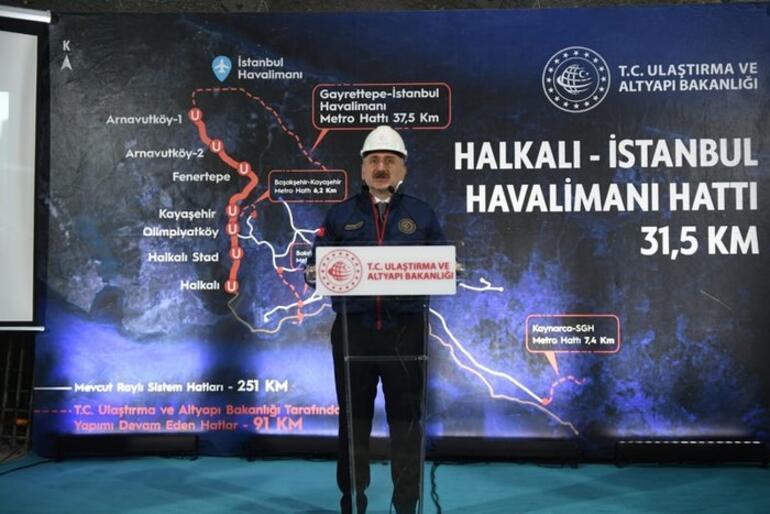 Son dakika: Bakan açıkladı İstanbula iki raylı sistem hattı daha geliyor..