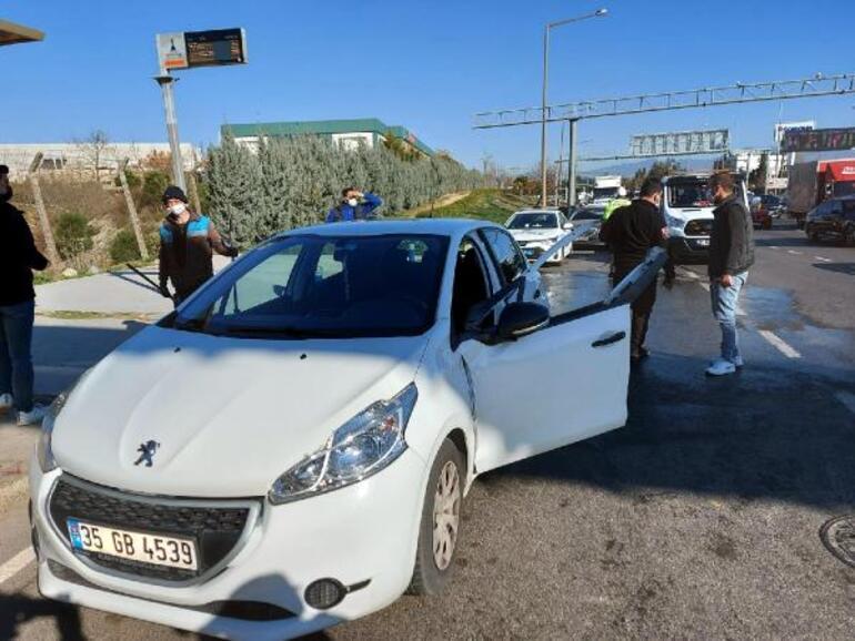 Feci son TIR kazasından sonra araçtan indi, canından oldu