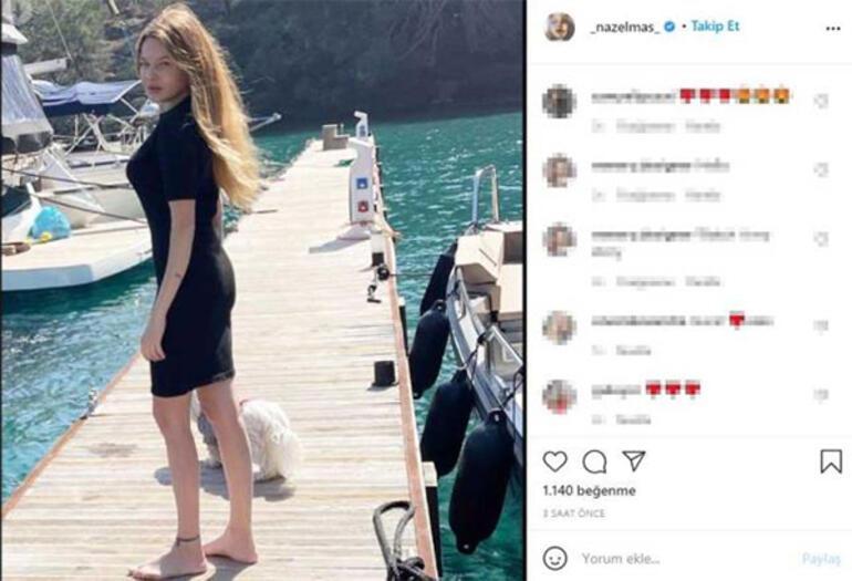 Naz Elmas- Erol Özmandıracı çifti şubat ayında denize girdi