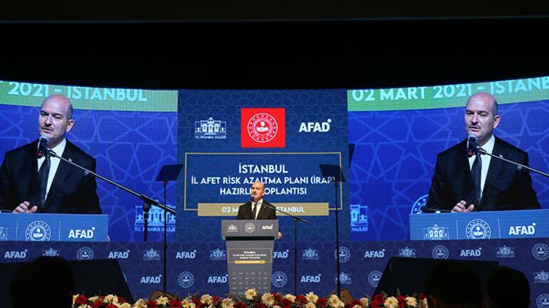 Son dakika haberler: İçişleri Bakanı Soyludan olası İstanbul depremine ilişkin flaş açıklama