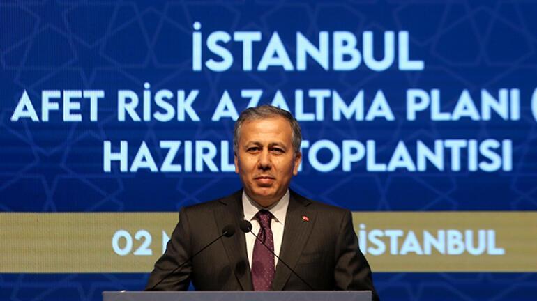 İstanbul İl Afet Risk Azaltma Planı Hazırlık Toplantısı düzenlendi
