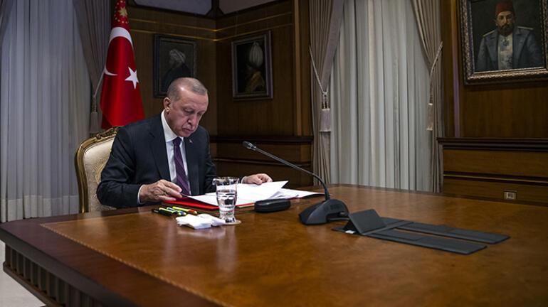 Son dakika: Cumhurbaşkanı Erdoğan, Macron ile görüştü