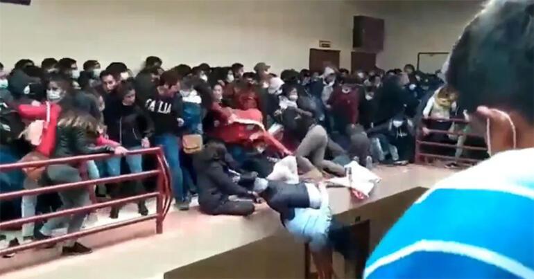Son dakika... Üniversitede korkuluklar kırıldı, dördüncü kattan düşen öğrenciler öldü