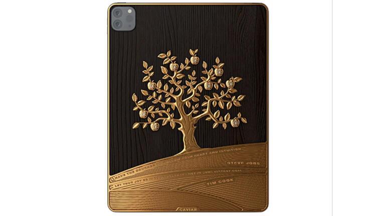 1 kilogram altın kaplama iPad Pro modeli ev fiyatına satılıyor