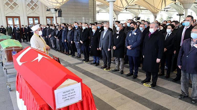 TBMM Başkanı Şentop, Sema Şekerin cenaze törenine katıldı