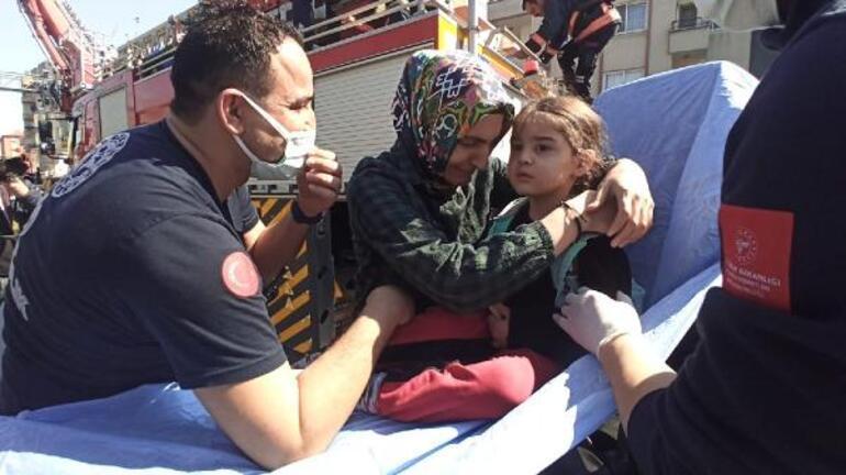 Mersinde korku dolu anlar 8 kişi ölümden kurtarıldı