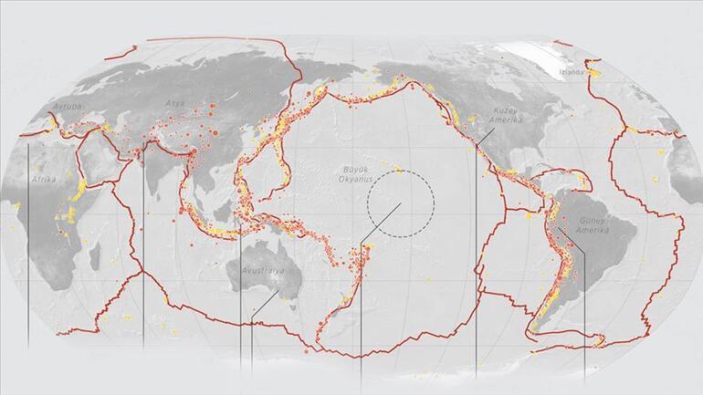 Son dakika Yeni Zelanda açıklarında şiddetli deprem