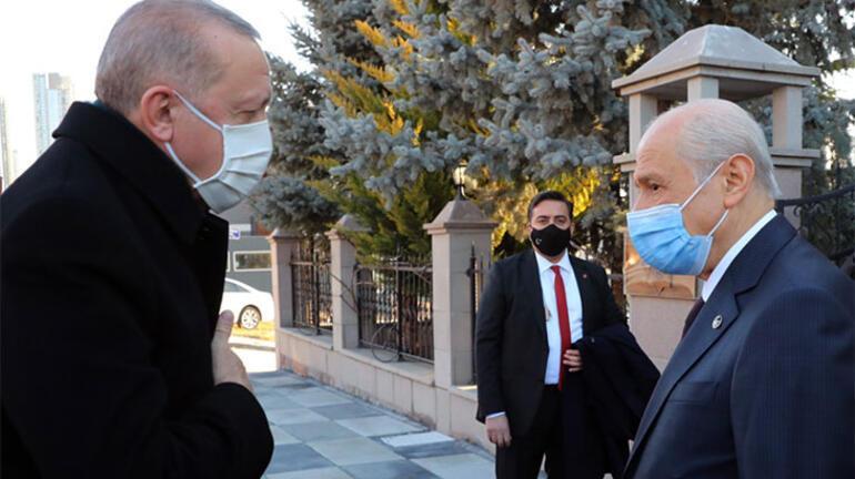 Son dakika... Cumhurbaşkanı Erdoğan, Bahçeli arasında önemli görüşme