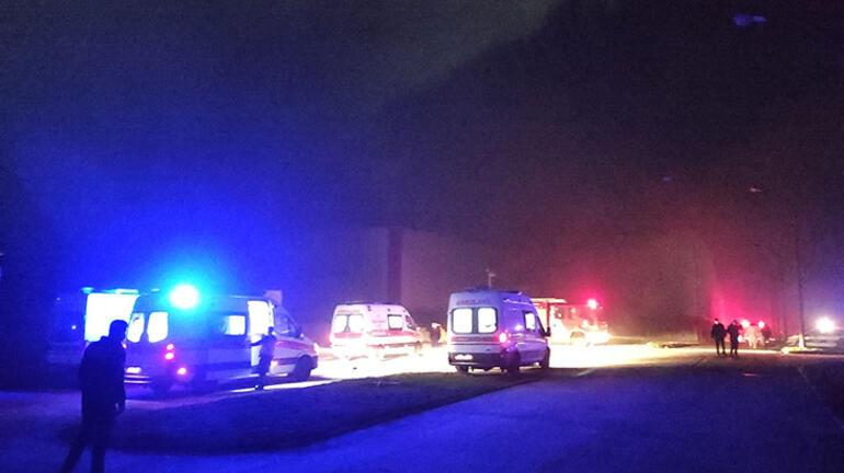 Tuzlada korkutan fabrika yangını 1 işçi dumandan etkilendi