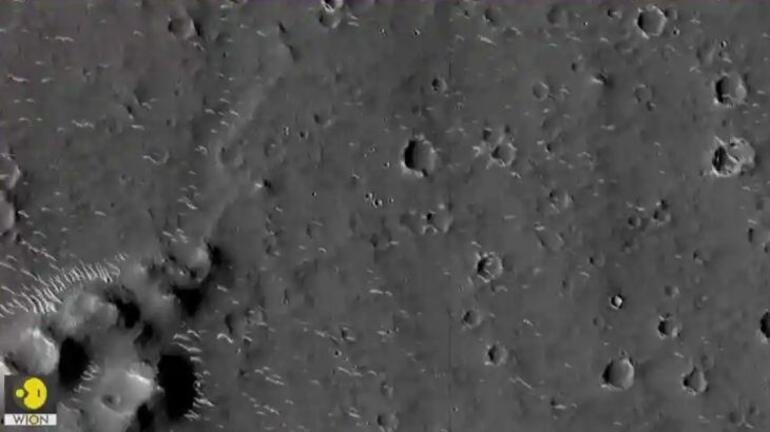 Çin, Marstan yüksek çözünürlüklü yeni fotoğraflar paylaştı