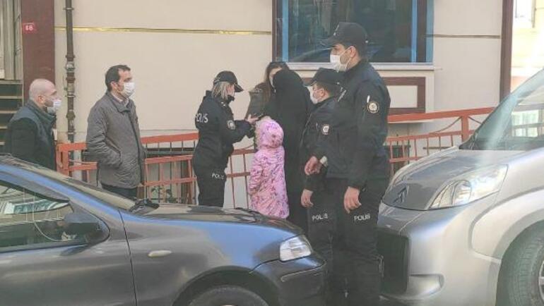 Son dakika: Eşi ve çocuğuyla kendini eve kilitleyen koca 3. kattan atladı