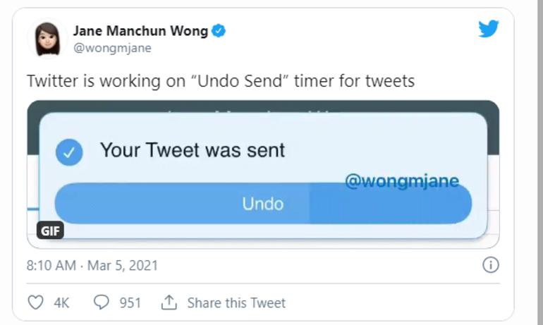 Twitter yapılan paylaşımları geri alacak özelliği test ediyor