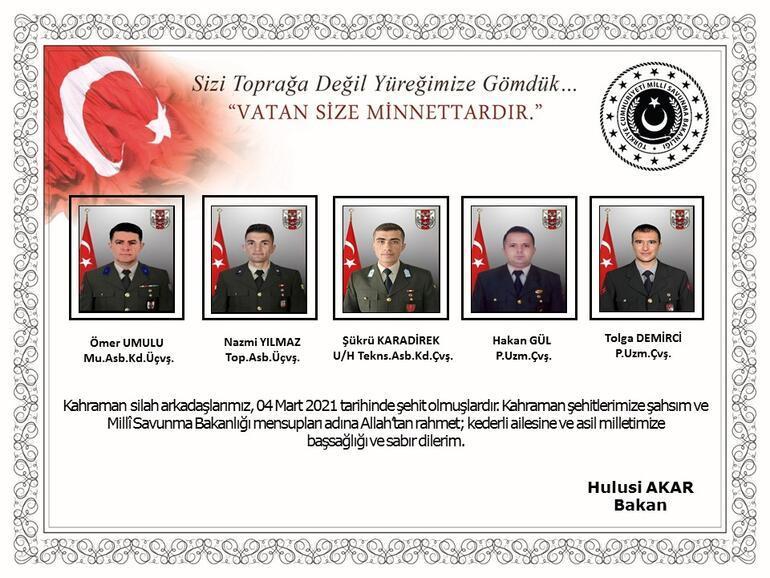 Son Dakika: Türkiyenin şehitlerine son görev Ankarada devlet töreni