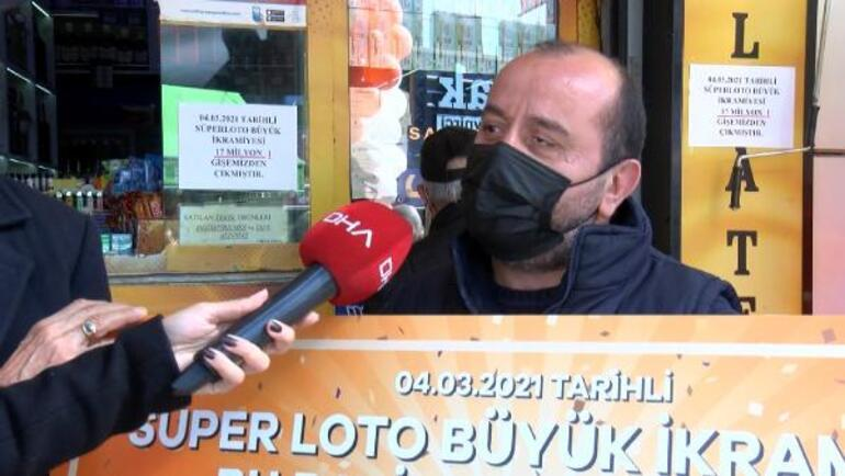 Süper Loto İstanbul Üsküdara büyük ikramiye kazandırdı