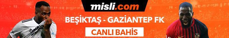 Beşiktaş - Gaziantep FK maçıTek Maç ve Canlı Bahis seçenekleriyle Misli.com'da