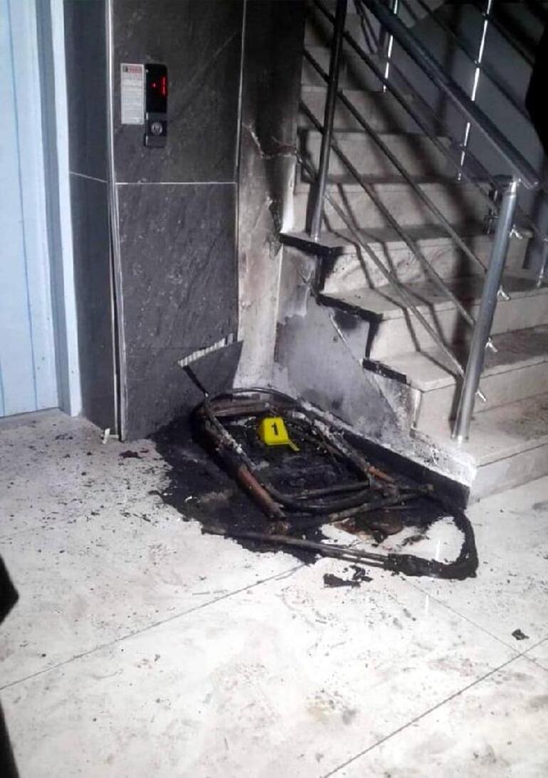 Apartmanlara tek tek girip bebek arabalarını yakıyor