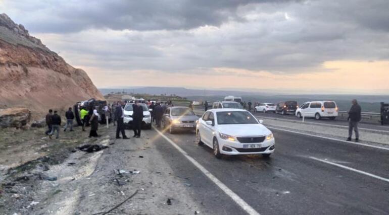 Son dakika: Diyarbakırda feci kaza Çok sayıda ölü var