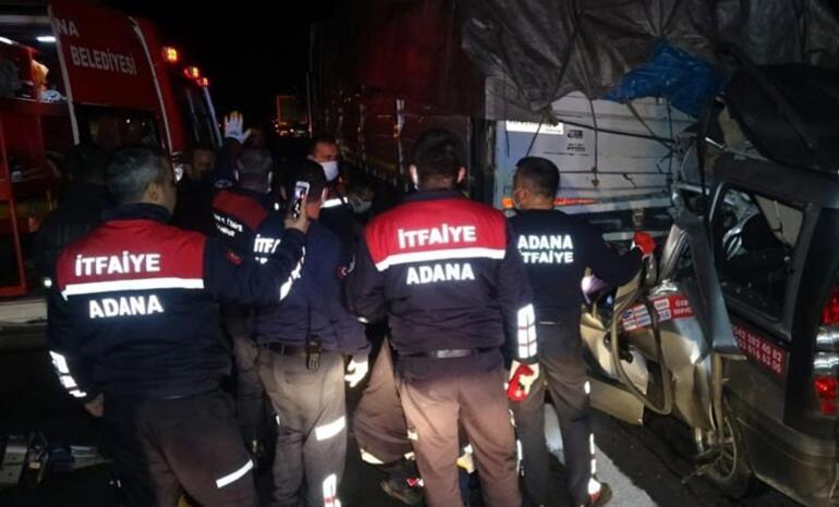 Feci kaza 3 kişi hayatını kaybetti