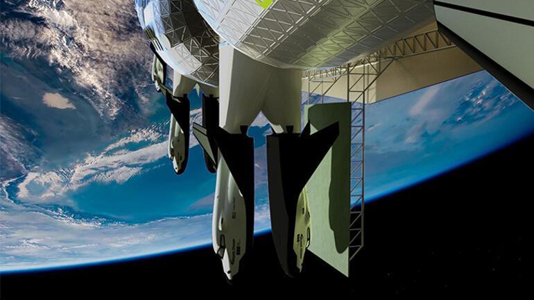 Uzay otelinde üç günlük konaklama milyonlarca dolar