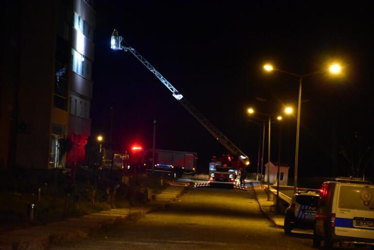 İzmirde göçmen geri gönderme merkezinde korkutan yangın
