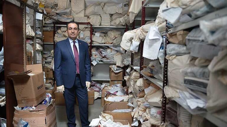 İstanbul Adalet Sarayının kozmik odası emanet depolarında 200 bin soruşturma delili