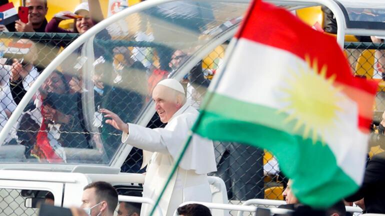 Son dakika... Papa ziyaretinde harita rezaleti Türkiyenin doğusu...