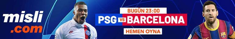 PSG - Barcelona maçı Tek Maç ve Canlı Bahis seçenekleriyle Misli.com'da