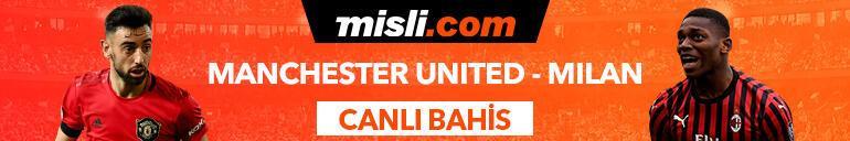 Manchester United - Milan maçı Tek Maç ve Canlı Bahis seçenekleriyle Misli.com'da