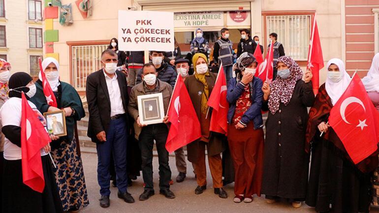 HDP önündeki eylemde 556'ncı gün; aile sayısı 215 oldu