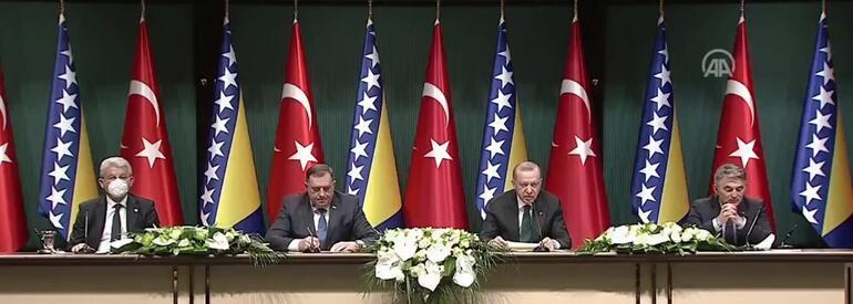 Son dakika: İmzalar atıldıktan sonra Erdoğan açıkladı: Bosna Herseke göndereceğiz
