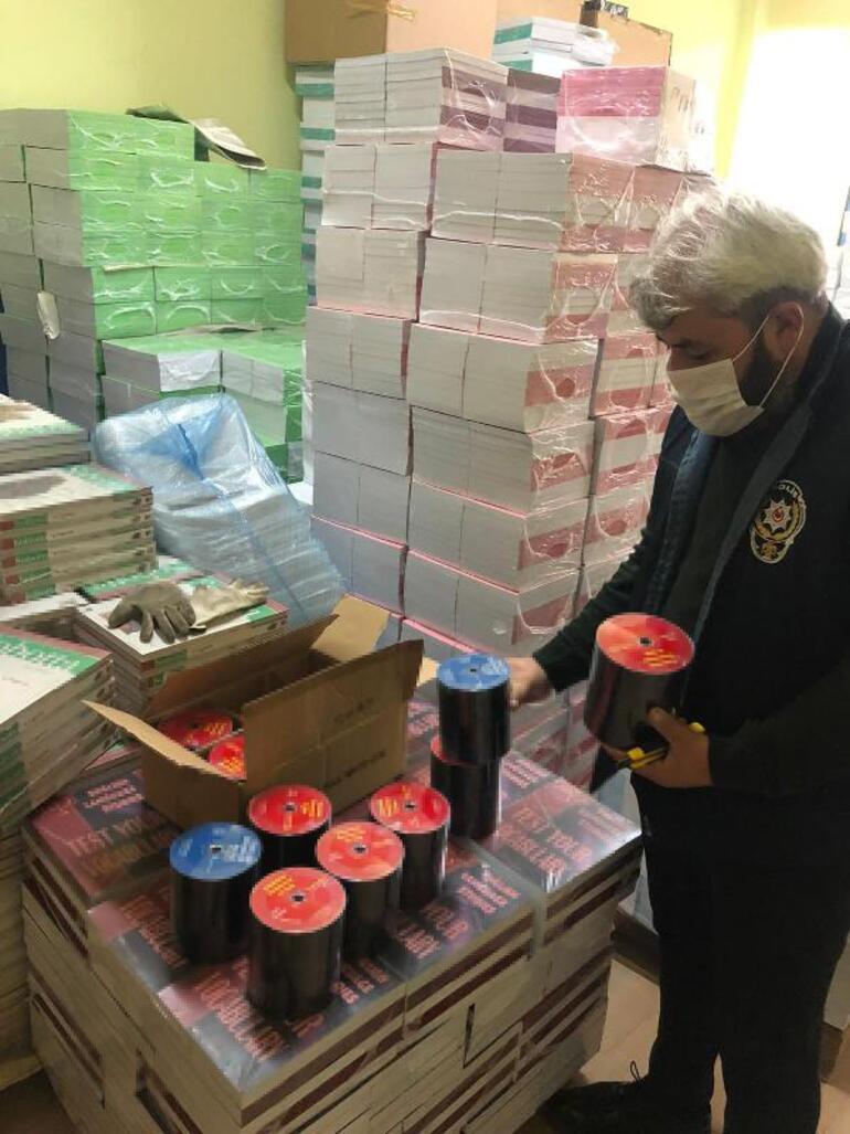 İstanbulda korsan kitap operasyonu