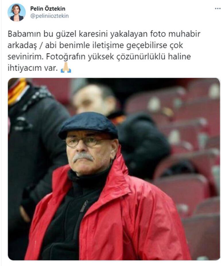 Pelin Öztekin babasının fotoğrafını çeken kişiyi arıyor