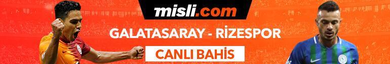 Galatasaray - Çaykur Rizespor maçı Tek Maç ve Canlı Bahis seçenekleriyle Misli.com'da
