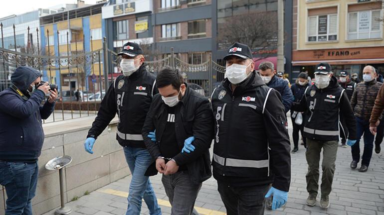 Eskişehirde tefecilik operasyonu 18 şüpheli yakalandı