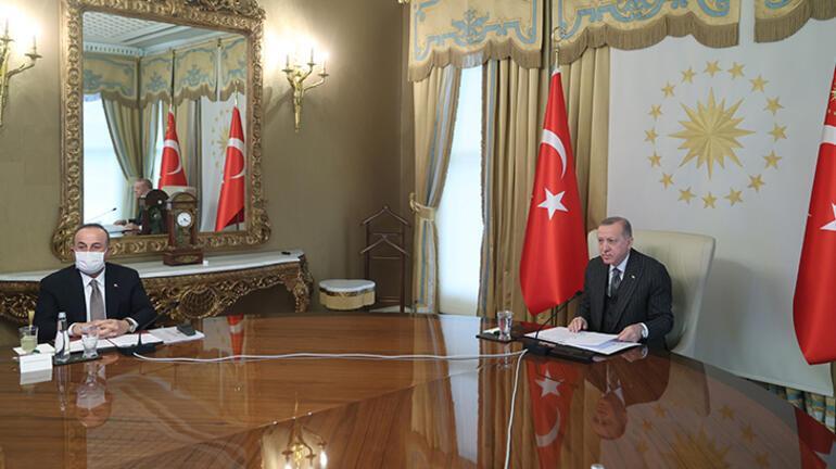 Cumhurbaşkanı Erdoğanın AB Komisyonu Başkanı ile görüşmesi sona erdi
