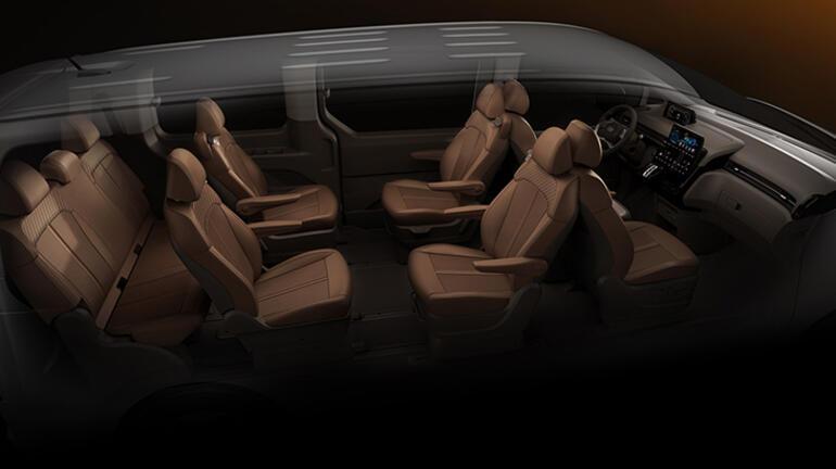 Hyundai Yeni MPV'si STARIA'nın detaylarını paylaştı