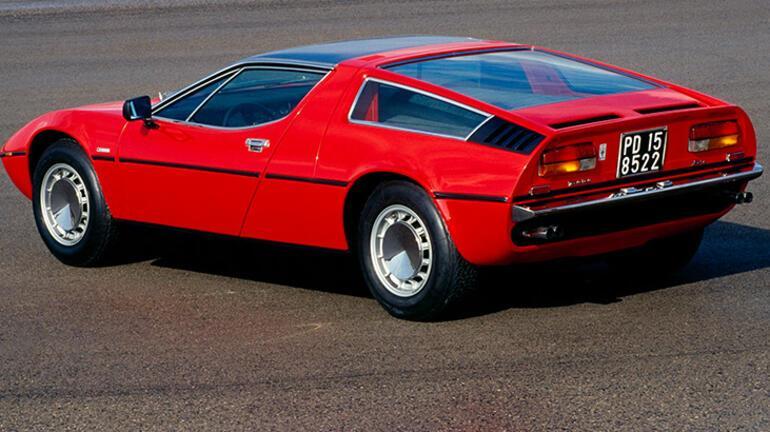 Maserati Bora 50. yaşını kutluyor