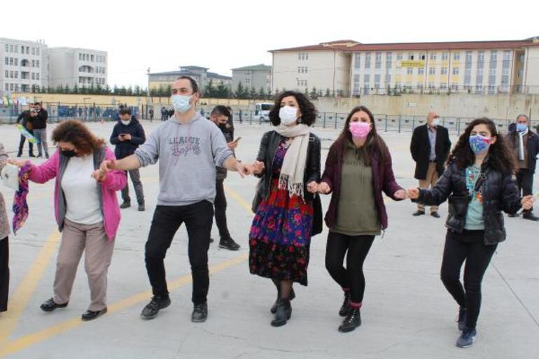 HDP'den sosyal mesafesiz Nevruz kutlaması