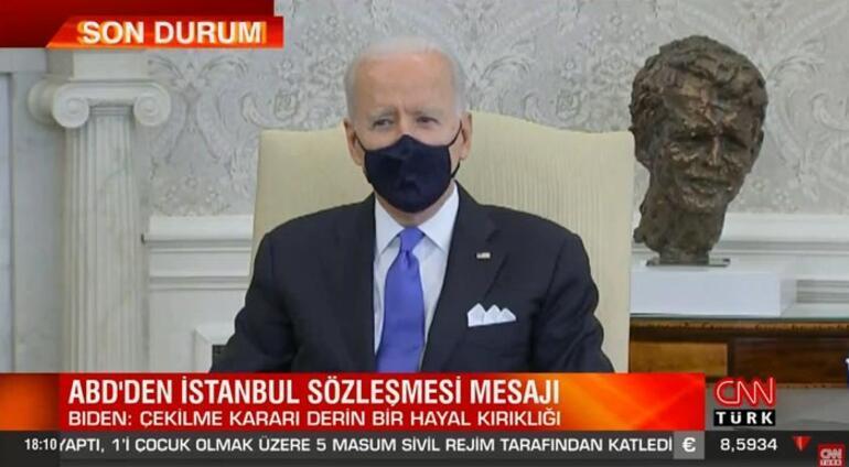 Son dakika: Bidendan İstanbul Sözleşmesi açıklaması