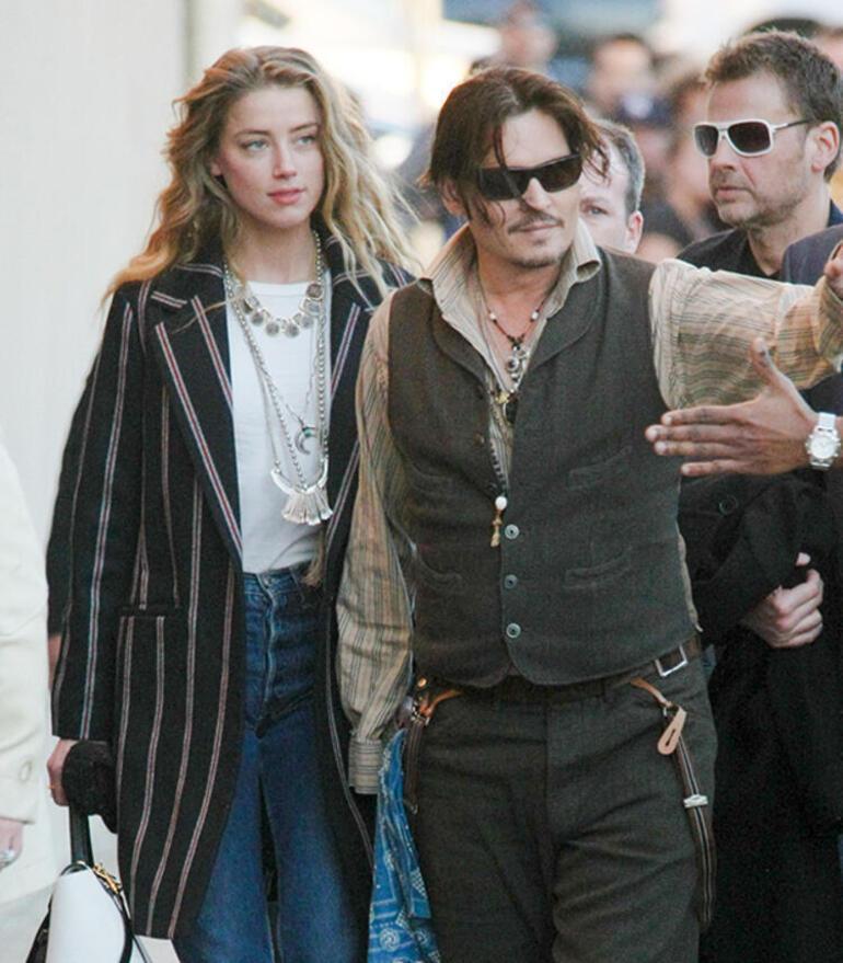 Amber Heard ile Johnny Depp arasındaki dengeler değişebilir