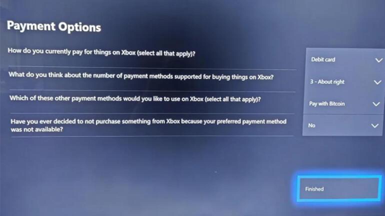 Microsoft, Xbox için ödeme seçeneklerinden birini Bitcoin yapabilir