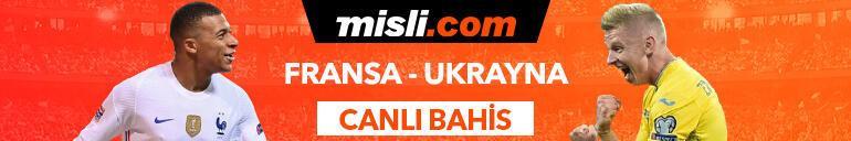 Fransa - Ukrayna maçıTek Maç ve Canlı Bahis seçenekleriyle Misli.com'da
