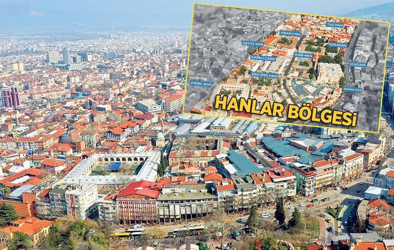 Bursa'da tarihsel dönüşüm