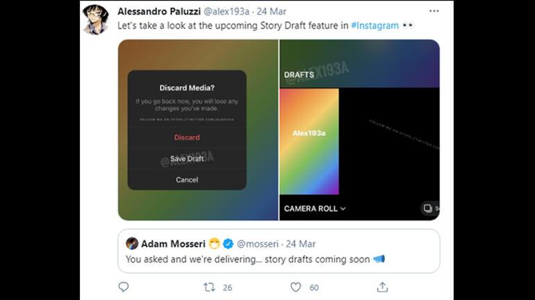 Instagram Hikayeler için gelecek çok faydalı özellik