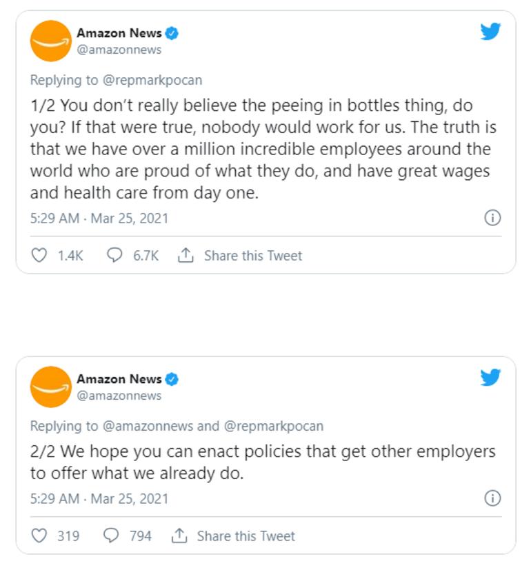 Amazon çalışanlarına idrar şişesi mi dağıtıyor İddialar tekrar gündemde